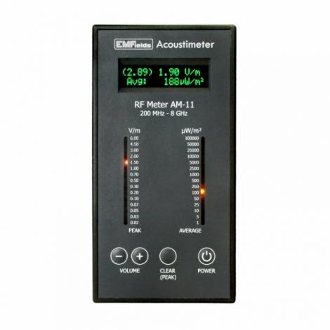 AcoustímetroAM11-detectorderadiofrecuencia(RF)- microondas-AM11