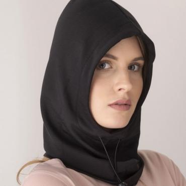 Защитна качулка-emf-protective-hood-leblok-black