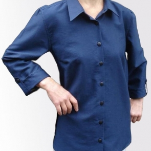 Защитна дамска риза (флот) срещу електромагнитно излъчване