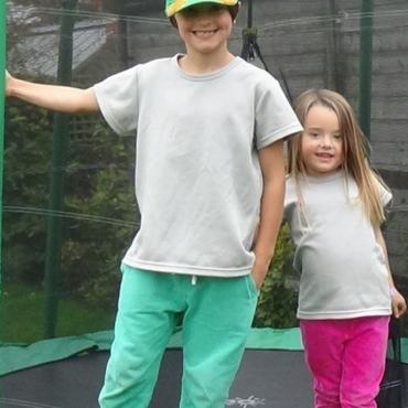 Защитна детска тениска унисекс срещу електромагнитно излъчване
