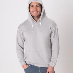 Защитна мъжка спортна блуза с качулк