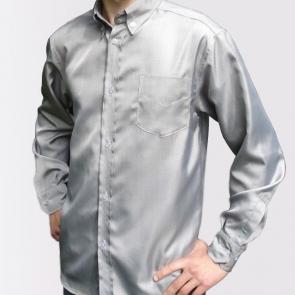 Мъжка риза (сива) срещу електромагнитно излъчване